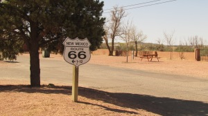 Historic Route 66, otherwise known as Highway 40.