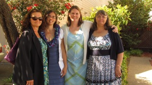 Jennifer, Brenda, Lyn and Kathleen