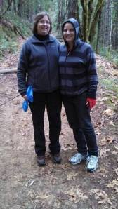 Me and Rebecca at Armstrong Woods