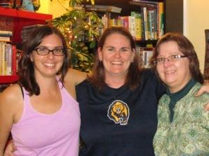 Jennifer, Brenda and me