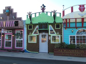 Colored shops