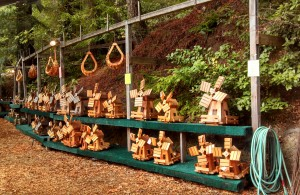 Stuff made from redwood trees