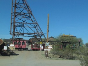 Entrance to what used to be a busy gold mine.
