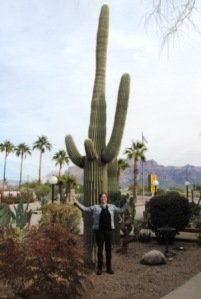 me and a cactus