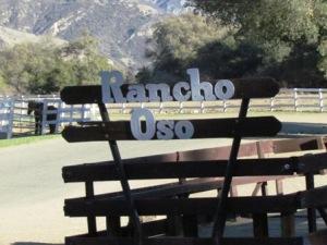 rancho oso sign