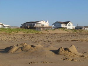 Castles in the sand...for now