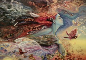 One of my favorite Josephine Wall paintings